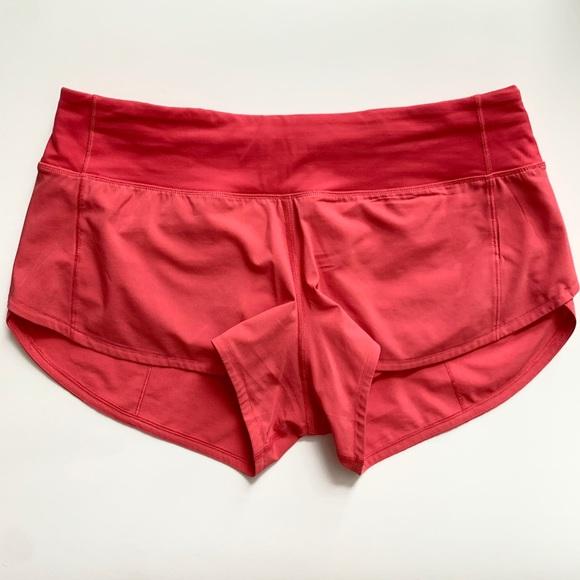 Lululemon hot pink shorts